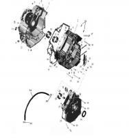 Картер двигателя 140537